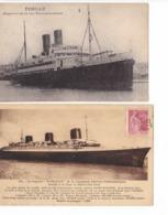 33 Cartes  Les Bateaux - Postcards