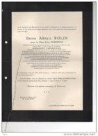 Baron Alberic Rolin Epoux Borreman Batonnier Avocats °Mariakerke 1843 + 3/2/1937 Ukkel Dieweg Nerincx Claeys Bouuaert - Avvisi Di Necrologio