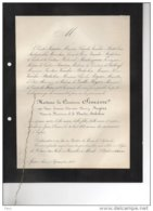 Siméon Née Fanny Rogier Veuve Vanderstichelen + Spiez Suisse 31/8/183 Thoune St Josse Ten Node De Montesquion Fezensac - Avvisi Di Necrologio