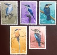 Papua New Guinea 1981 Kingfishers Birds MNH - Birds