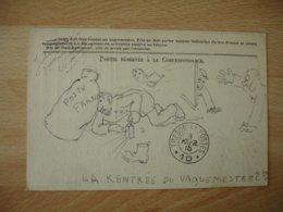 Jubecourt 55dessin Poilu Guerre 14.18 Accident Vaguemestre  Carte Franchise  Ref 1 Voir Description - Guerre 1914-18