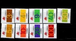 Portugal Portomarken Ziffern 95 - 103 MNH ** Neuf - Ungebraucht