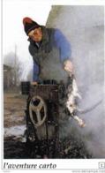 Carte Postale  44.  Herbignac Village Del'Ongle Mr. Jacques Leroux Plume Un Poulet - Herbignac
