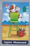 AU.- Telstra Phonecard $5. CHRISTMAS. Australia. AUSTRALIË. 0126021620. - Natale