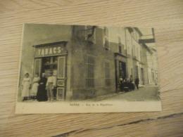 CPA 13 Bouches Du Rhône Berre Rue De La République Bureau De Tabac - Francia