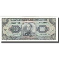 Billet, Équateur, 100 Sucres, 1994, 1994-02-21, KM:123Ac, NEUF - Ecuador