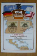 Allemagne Rep. Fédérale - Emission Commune Allemagne-USA - Voilier Concord - Ships