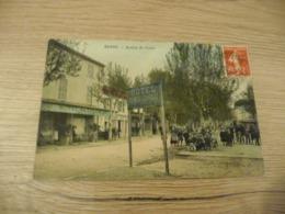 CPA 13 Bouches Du Rhône Berre Avenue Du Cours - Francia