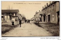 01 LA VALBONNE - Route De Meximieux (animée) - Non Classés