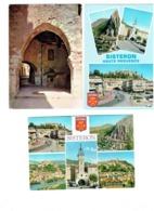 """Lot 3 Cpm - 04 - Sisteron - Multivues Blason Lettre Alphabet """"S"""" - Sisteron"""