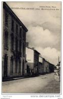 01 Saint DIDIER SUR CHALARONNE - Mairie Et Grande Rue (animée, Carte Pas Courante) - Non Classés