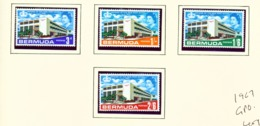 BERMUDA  -  1967 GPO Set Unmounted/Never Hinged Mint - Bermuda