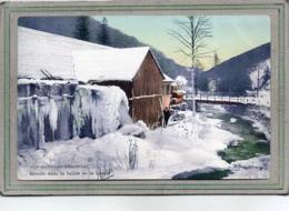 CPA - Environs De BUHL (68) - Aspect De La Scierie Sur La Lauch En Hiver En 1912 - Carte Colorisée - Autres Communes