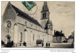 37 MONTS (Indre Et Loire) - Place De L église (belle Animation) - Unclassified