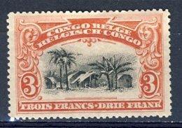 Belg.Kongo - Congo Belge Nr 61  Postfris Plakker - Neuf Charnière - MH - 1894-1923 Mols: Neufs