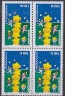 Roumanie Romania 2000 Yvertn° 4605 *** MNH Bloc De 4 Timbres Cote 12 Euro - 2000