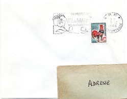 VAL De MARNE - Dépt N° 94 ALFORTVILLE 1966 = FLAMME PP Codée = SECAP  ' N° De CODE POSTAL / PENSEZ-Y ' - Zipcode