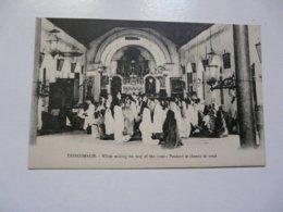 CPA TRINCOMALIE : Pendant Le Chemin De Croix - Postcards