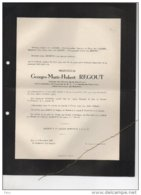 Louis D'Oreye Née Regout °Maastricht 1881 + 24/6/1947 Deigné (Louveigné) Thibault De Boesinghe Van Berckel Doyen Nice - Avvisi Di Necrologio