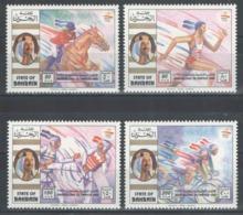 Bahrain - YT 445-448 ** MNH - 1992 - Jeux Olympiques De Barcelone - Bahrein (1965-...)