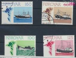 Dänemark - Färöer 24-27 (kompl.Ausg.) Gestempelt 1977 Fischereischiffe (9349052 - Färöer Inseln