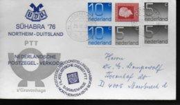 PAYS BAS Lettre  1976 Poste - Post