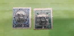 BRÉSIL  PA N 12 Et 13 Neufs Avec Charnière - Airmail