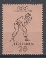 YUGOSLAVIA 1952 BOXING OLYMPIC GAMES - Boxe