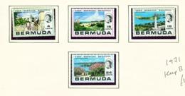 BERMUDA  -  1971 Keep Bermuda Beautiful Set Unmounted/Never Hinged Mint - Bermuda