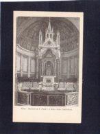 """88247    Italia,  Roma,  Basilica Di S. Paolo,  L""""altare  Della  Confessione,  NV - San Pietro"""