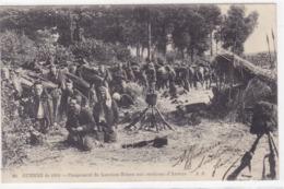 Belgique - Guerre De 1914 - Campement De Lanciers Belges Aux Environs D'Anvers - Belgique