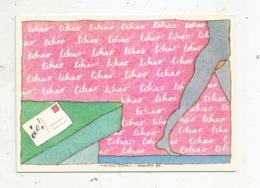 Cp , Illustrateur , Signée C. Lesueur , Série : L'amour à La Carte ,n° 1 ,TCHAO , Elle Part   ,vierge - Lesueur