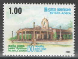 Sri Lanka - YT 1030 ** MNH - 1993 - Sri Lanka (Ceylan) (1948-...)
