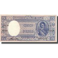 Billet, Chile, 5 Pesos = 1/2 Condor, KM:119, SUP - Chili