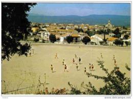 Carte Postale 83. Le Beausset-en-Provence  Le Stade Match De Football - Le Beausset