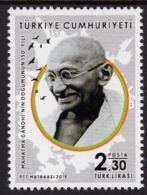 Turkey - 2019 - 150th Birth Anniversary Of Mahatma Gandhi - Mint Stamp - 1921-... Republic