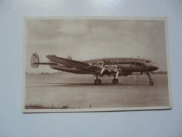 CPA COLLECTION AIR FRANCE : LOCKHEED CONSTELLATION - Materiaal