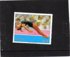 1976 Paraguay - Jennifer Chandler - Olimpiadi Di Montreal - Salto De Trampolin