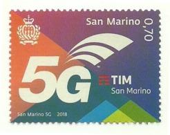2018 - San Marino 2616 Tecnologia 5G - Telecom