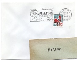 VAL De MARNE - Dépt N° 94  ARCUEIL 1966 = FLAMME Codée = SECAP  ' N° De CODE POSTAL / PENSEZ-Y ' - Zipcode
