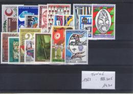 Tunisie. Année Complète 1983 - Tunisia (1956-...)
