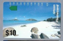 AU.- Telecom Phonecard $10. Beach. Australia AUSTRALIË 0031454448 - Landschappen