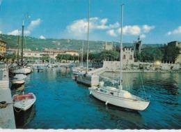 TORRI DEL BENACO-VERONA-LAGO DI GARDA-IL PORTO-CARTOLINA VERA FOTOGRAFIA VIAGGIATA IL 25-7-1979 - Verona