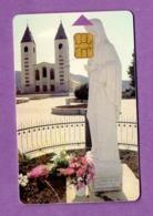 BOSNIE - HPT D.o.o Mostar Telecarte Prepayée Perimée  100 Unites, Tirage 50.000, Eglise Et Statue - Le Lot De 4 - - Bosnie
