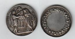 Médaille De Mariage Chrétien;  Non Gravée; Diamètre 30mm; Poids 12,1gr; Argent - Francia