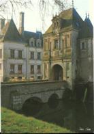 D41 - LUNAY - CHÂTEAU DE  LA MEZIERE - LE PORCHE CONSTRUIT EN 1555  ET LA FACADE OUEST - CPM Grand Format - Frankreich