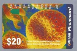 AU.- Telecom Phonecard $20. Pollen Grains. Australia AUSTRALIË. 0033248041 - Bloemen