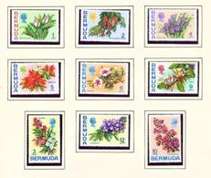 BERMUDA  -  1970-75 Flower Definitives  Set Unmounted/Never Hinged Mint - Bermuda