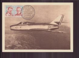 """France FDC Du 13 Juin 1959 Au Bourget """" Pilotes D'essai Goujon, Rozanoff """" - FDC"""