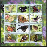 2012 TONGA NIUAFO OU 333-44** Papillons, Feuillet, Côte 90.00 - Tonga (1970-...)